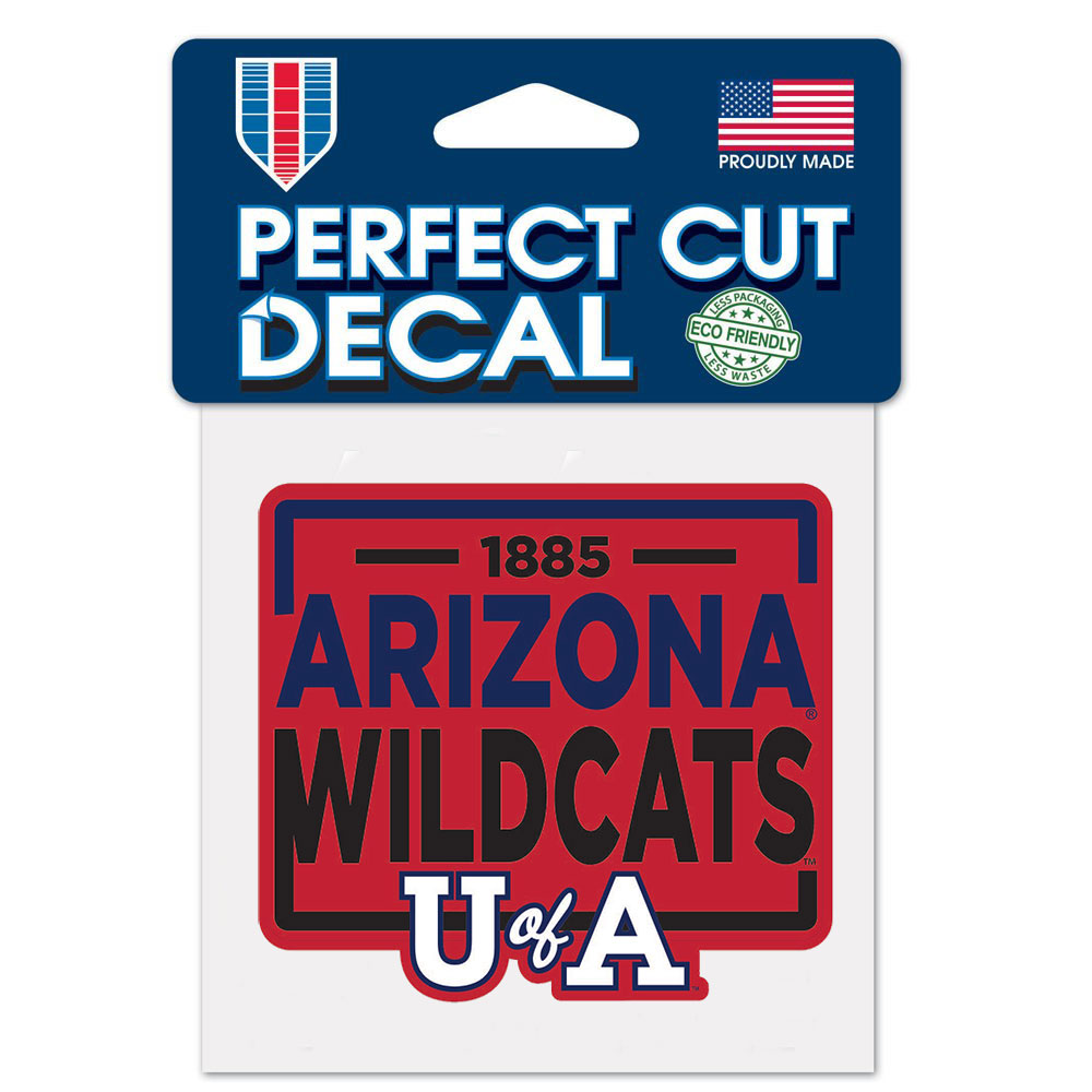 Image For Decal: 1885 Arizona Wildcats U of A