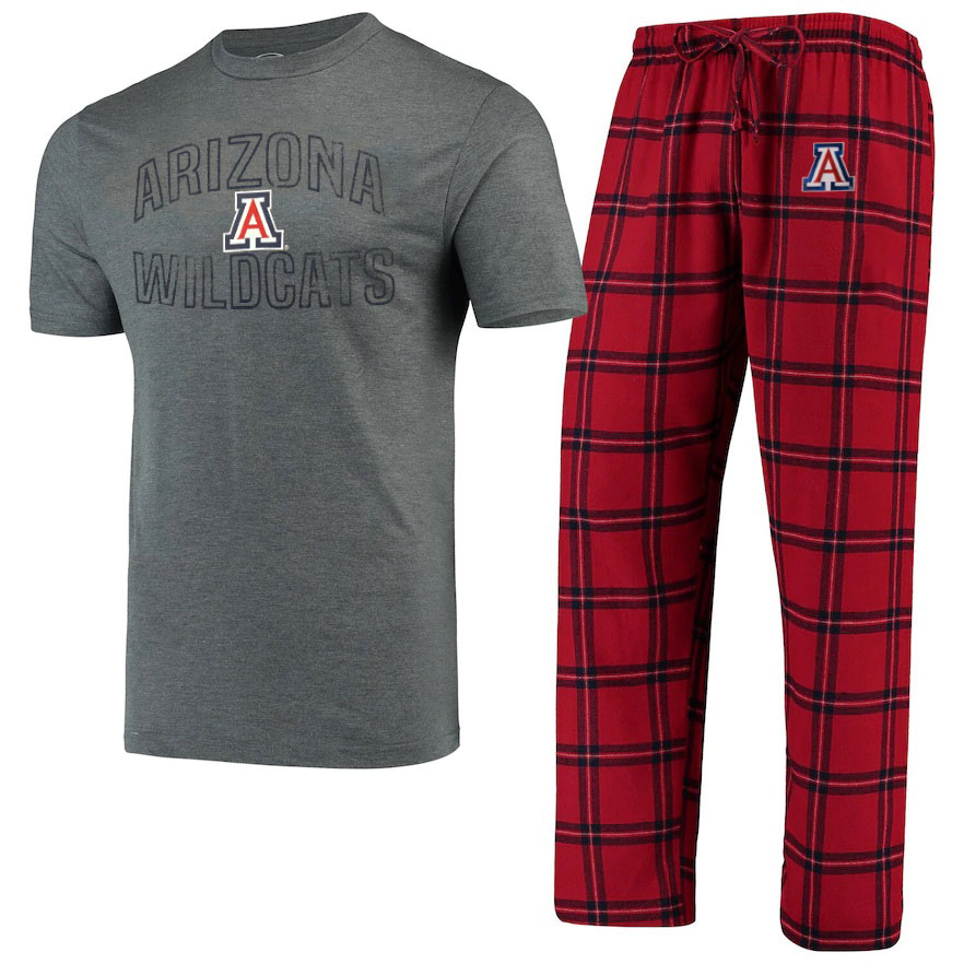 Image For Concept Sport: Arizona Troupe T-Shirt & Pants Sleep Set