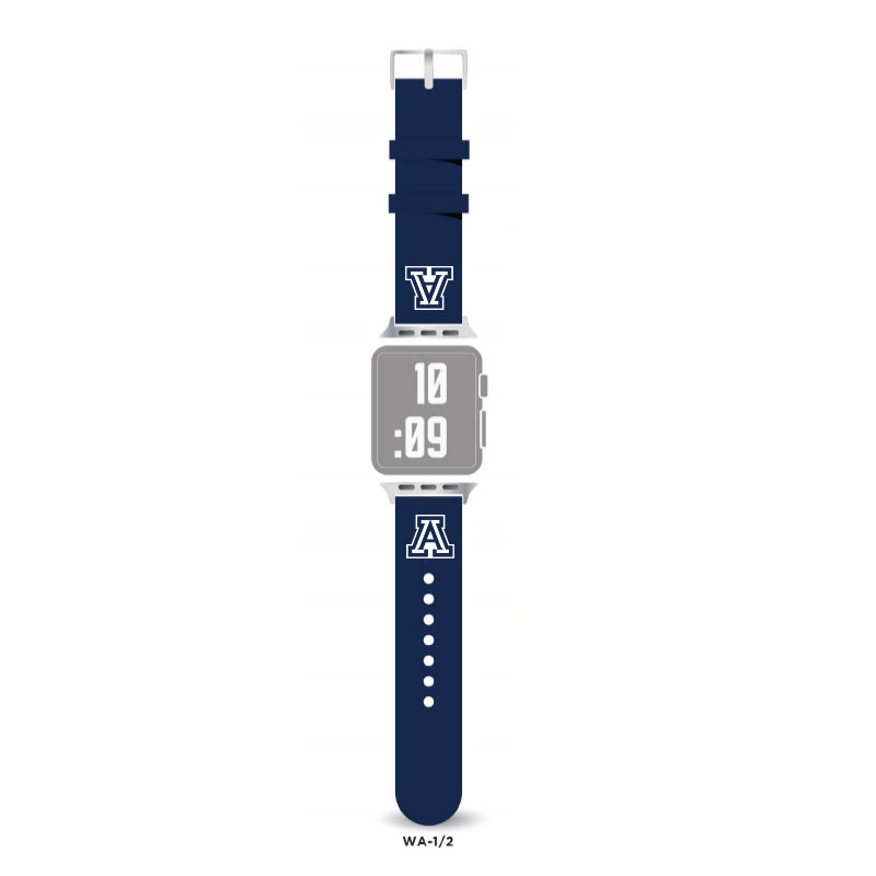 Image For LXG: Arizona Apple Watch Silicone Navy Band