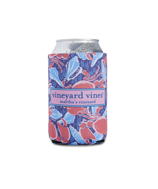 Image For Vineyard Vines: Shell Crab Coozie