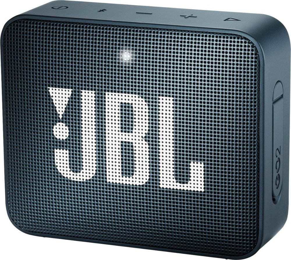 Image For JBL: Go 2 Portable Bluetooth Speaker - Blue