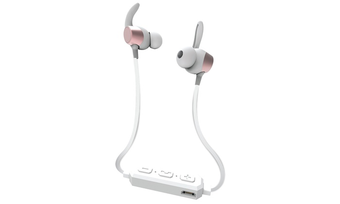Image For iEssentials Sweet Sounds Bluetooth Headphones - Rose Gold