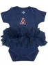 Cover Image for Creative Knitwear: Arizona Infant Tutu Bodysuit - Navy