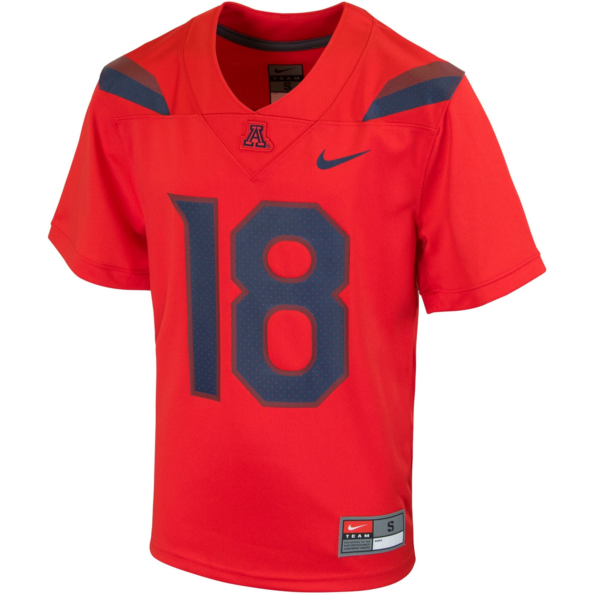 Image For Nike: #18 Arizona Wildcats Youth Replica Football Jersey