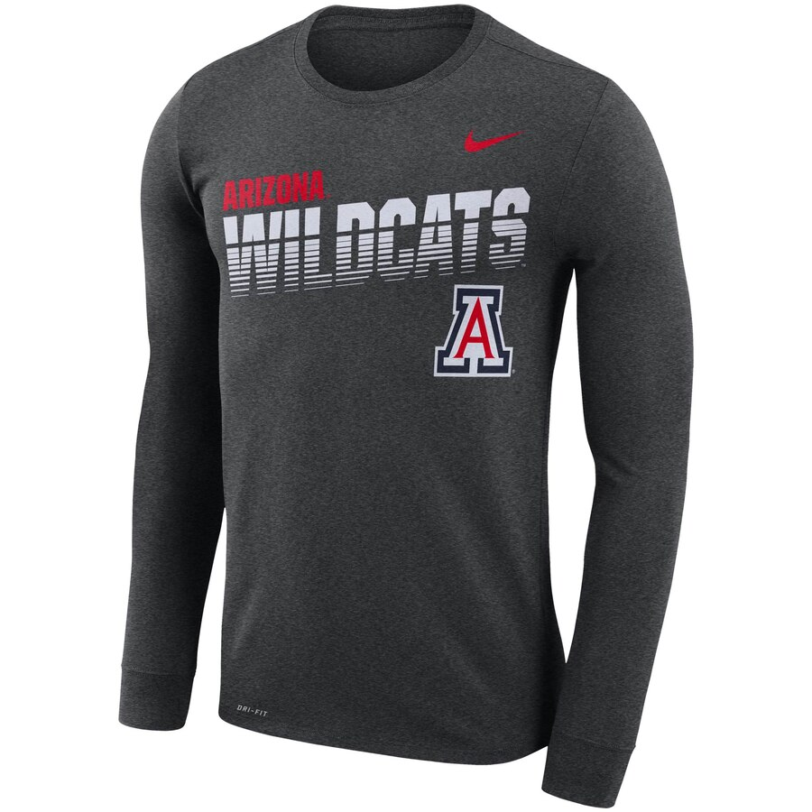 Image For Nike: Arizona Wildcats YOUTH Legend Long Sleeve - Grey