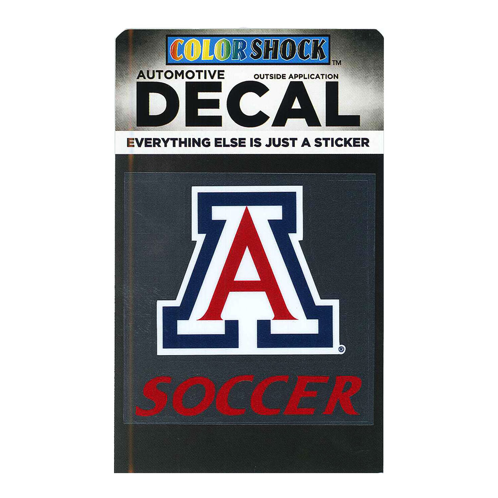Image For Decal: Arizona Soccer