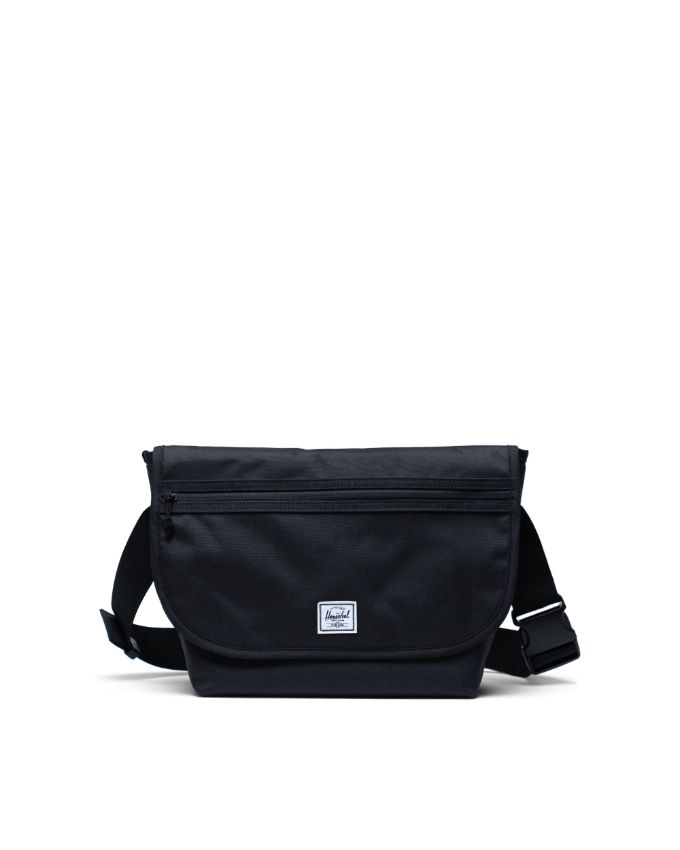 Image For Herschel Grade Messenger Mid-Volume Black