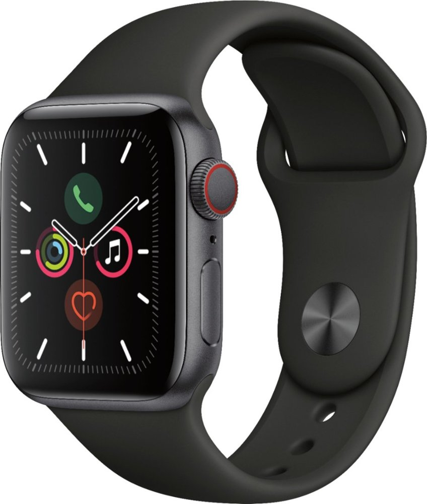 Image For Apple Watch Series 5 (GPS) 40mm Space Gray With Sport Band