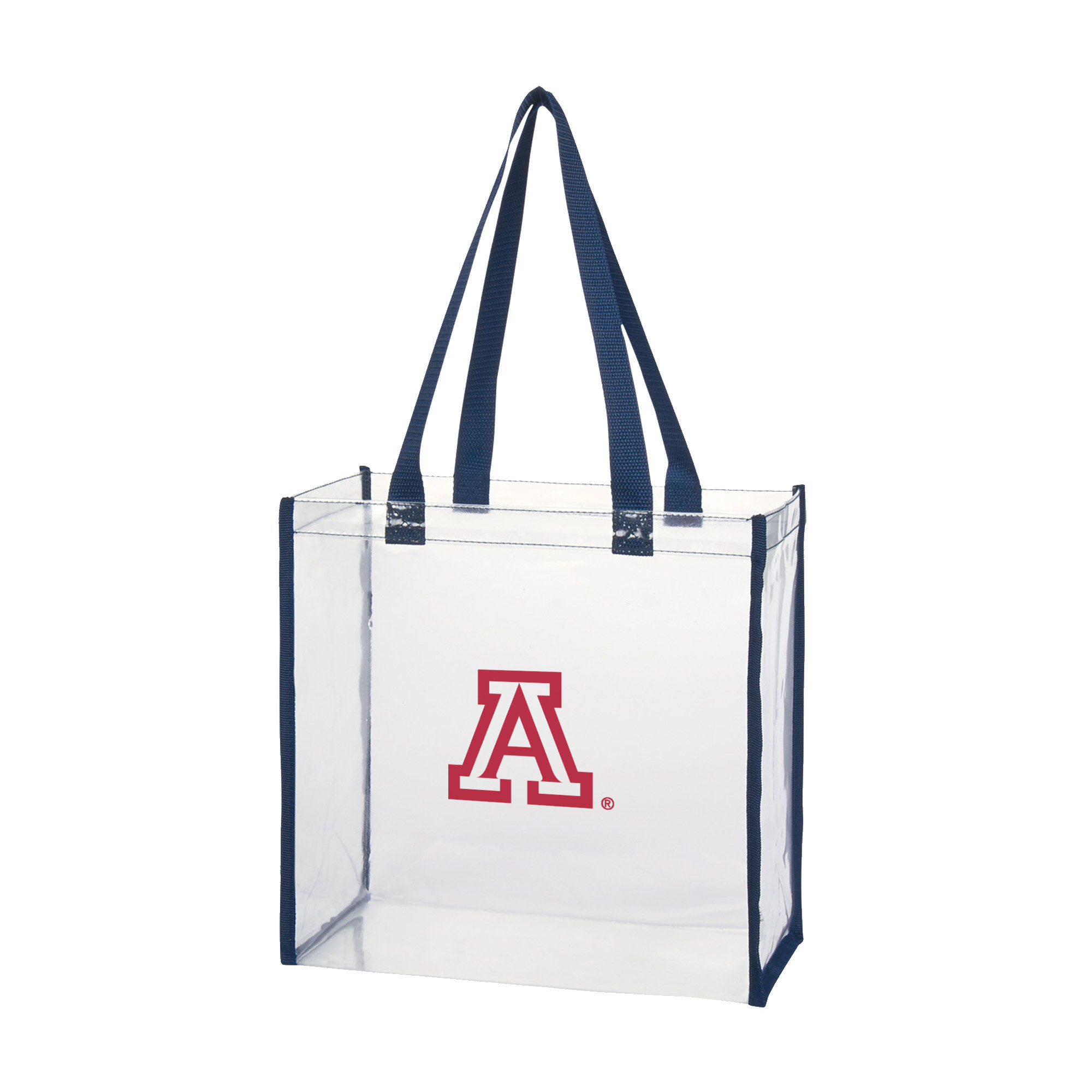 Image For Tote: Arizona Domestic Clear Tote - Navy