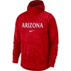 Cover Image for Nike: Arizona Men's Basketball Spotlight Hoodie - Red