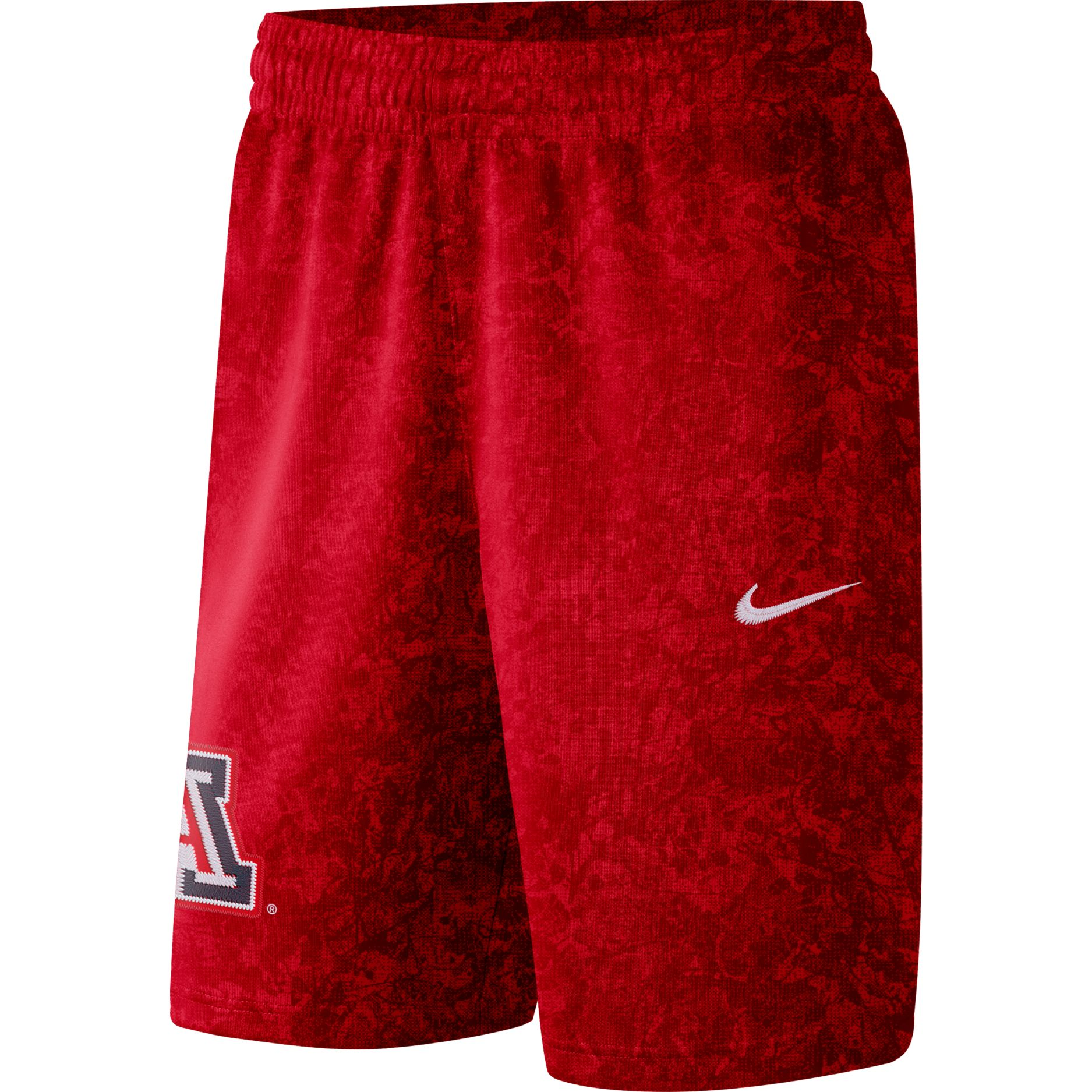 Cover Image For Nike: Arizona Men's Basketball Spotlight Shorts - Red