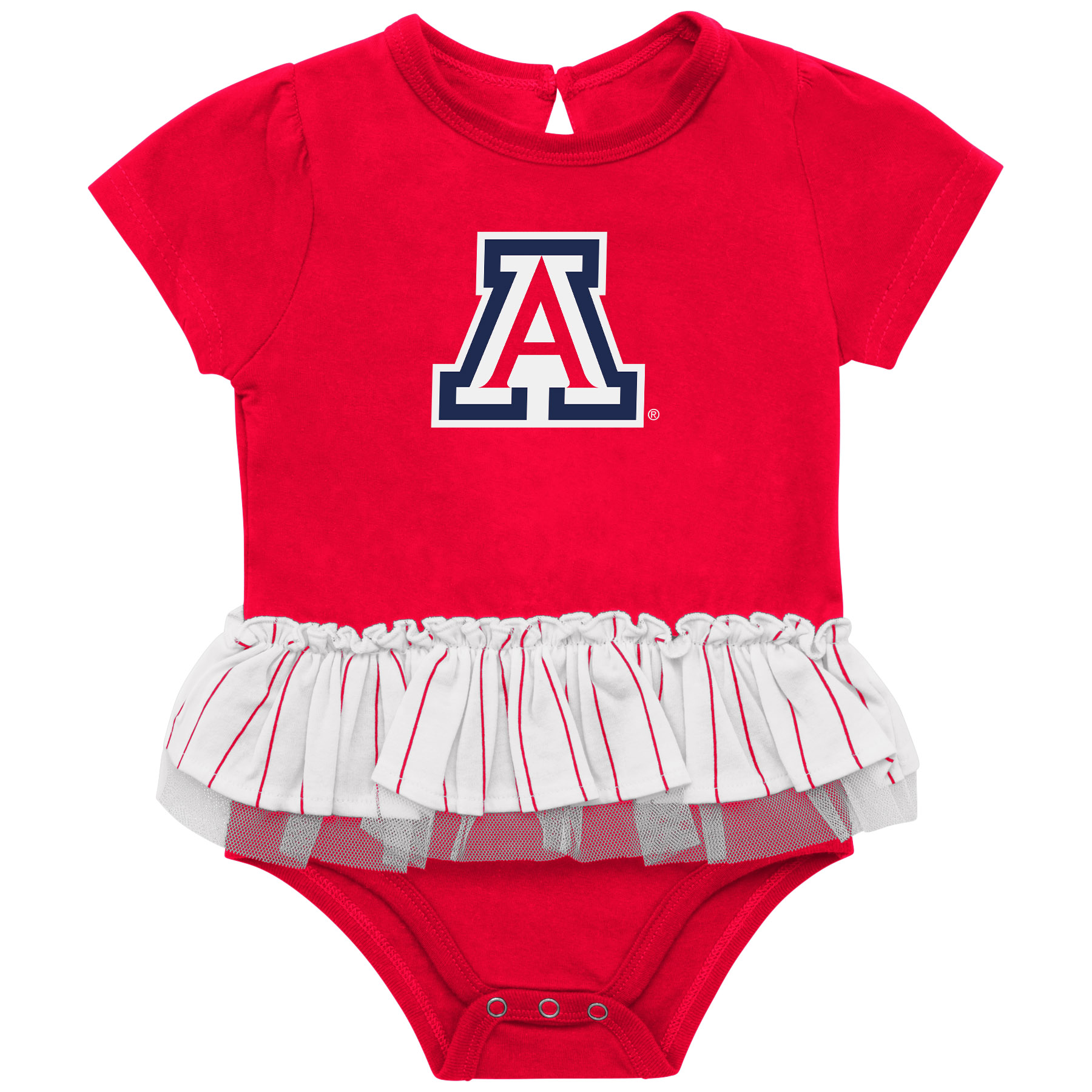 Image For Colosseum: Arizona Infant Girls DA-DA-DA-DUH TUTU Onesie