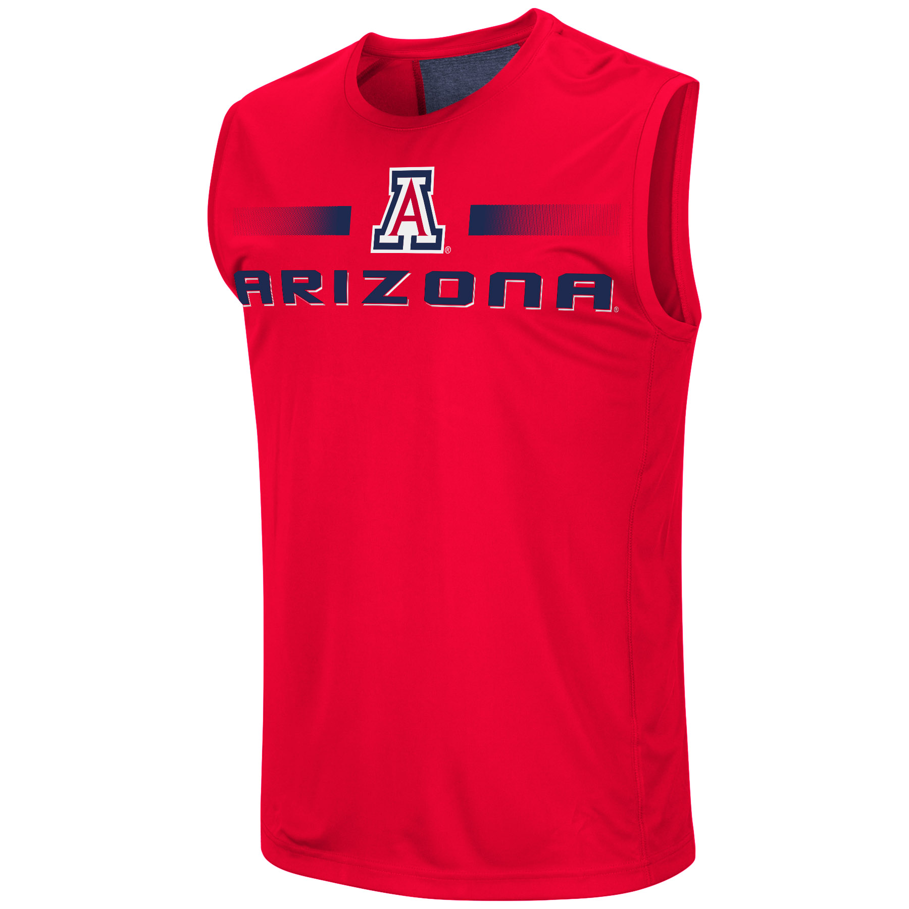 Image For Colosseum: Arizona Men's Gergich Sleevless Tee - Red