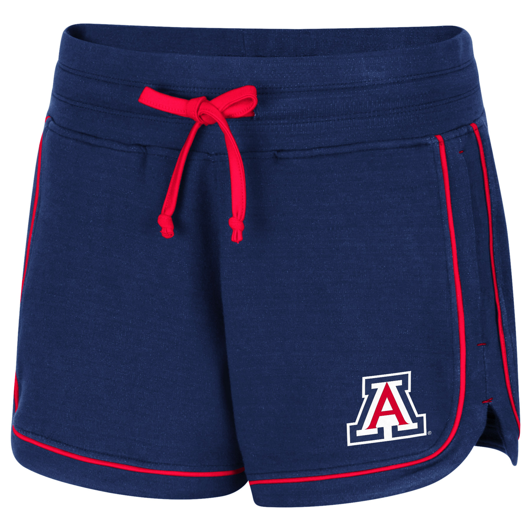 Image For Colosseum: Arizona Women's Lil Sebastian Short - Navy/Red