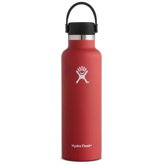 Image For Hydro Flask: 24 oz Standard Mouth - Lychee Red