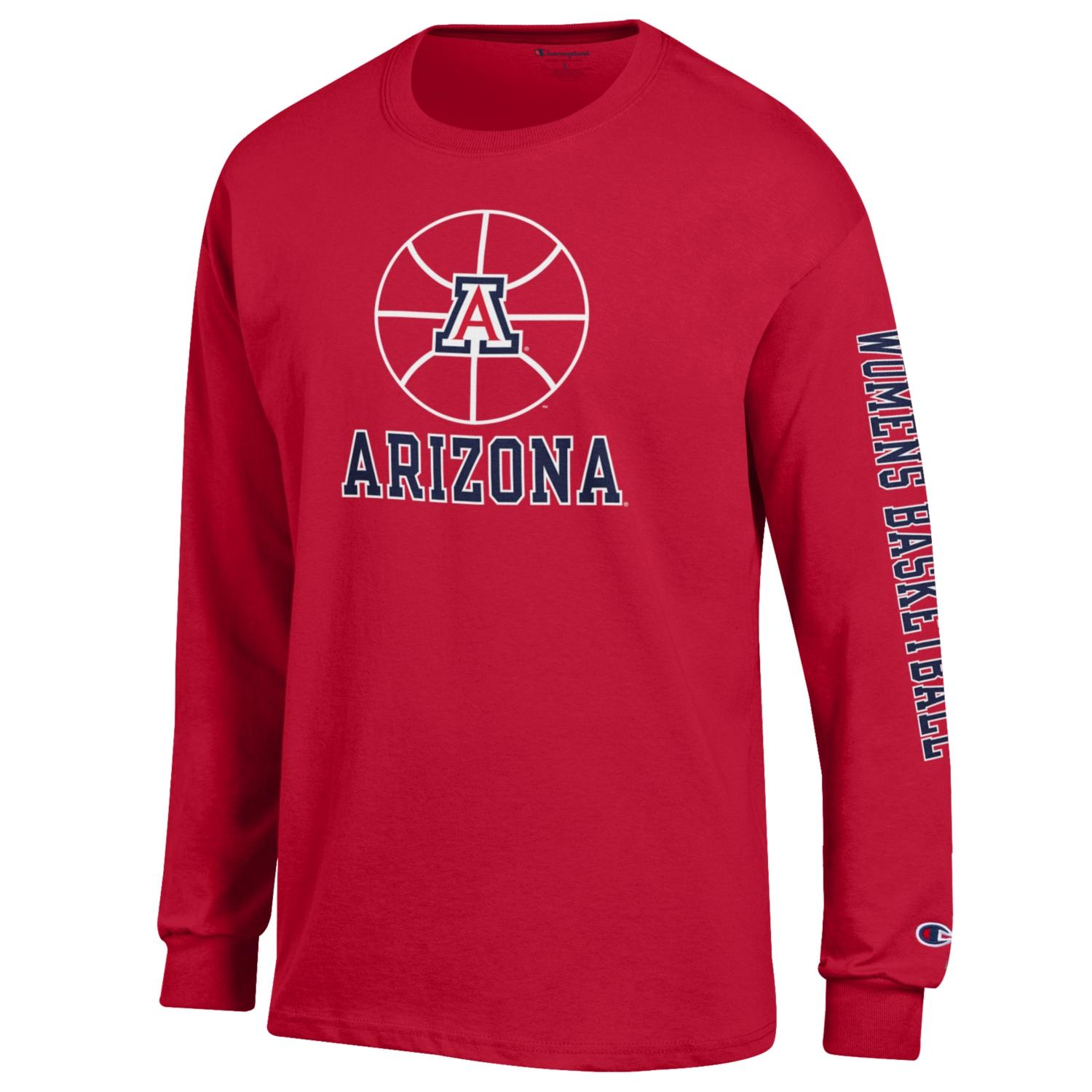 Image For Champion: Arizona Women's Basketball Icon Long Sleeve - Red