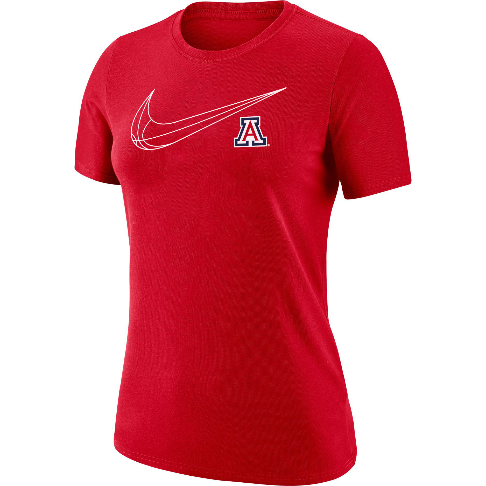 Image For Nike: Arizona Basketball Women's Dri-Fit Tee - Red