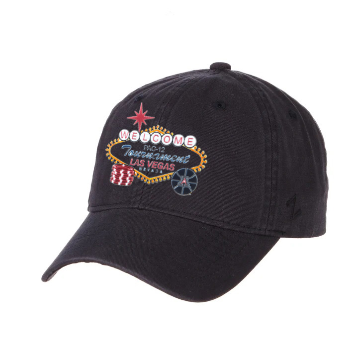 Image For Zephyr: Arizona Basketball PAC-12 Tournament Cap - Navy