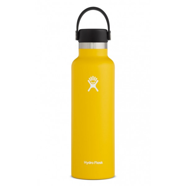 Image For Hydro Flask: 21 oz Standard Mouth - Sunflower