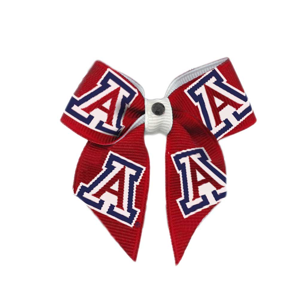 Image For All Star Dogs: Arizona Wildcats Dog Hair Bow