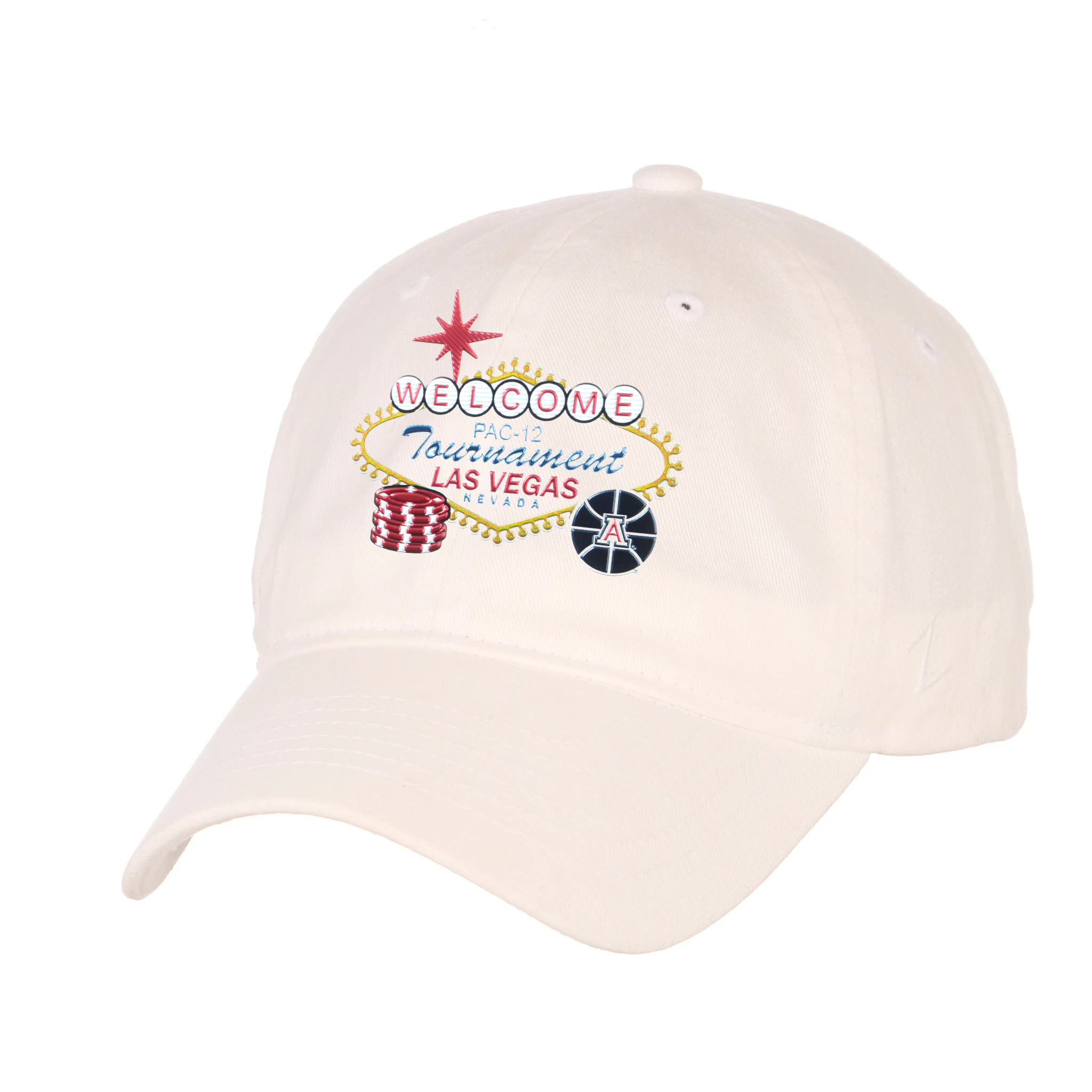 Image For Zephyr: Arizona Basketball PAC-12 Tournament Cap - White