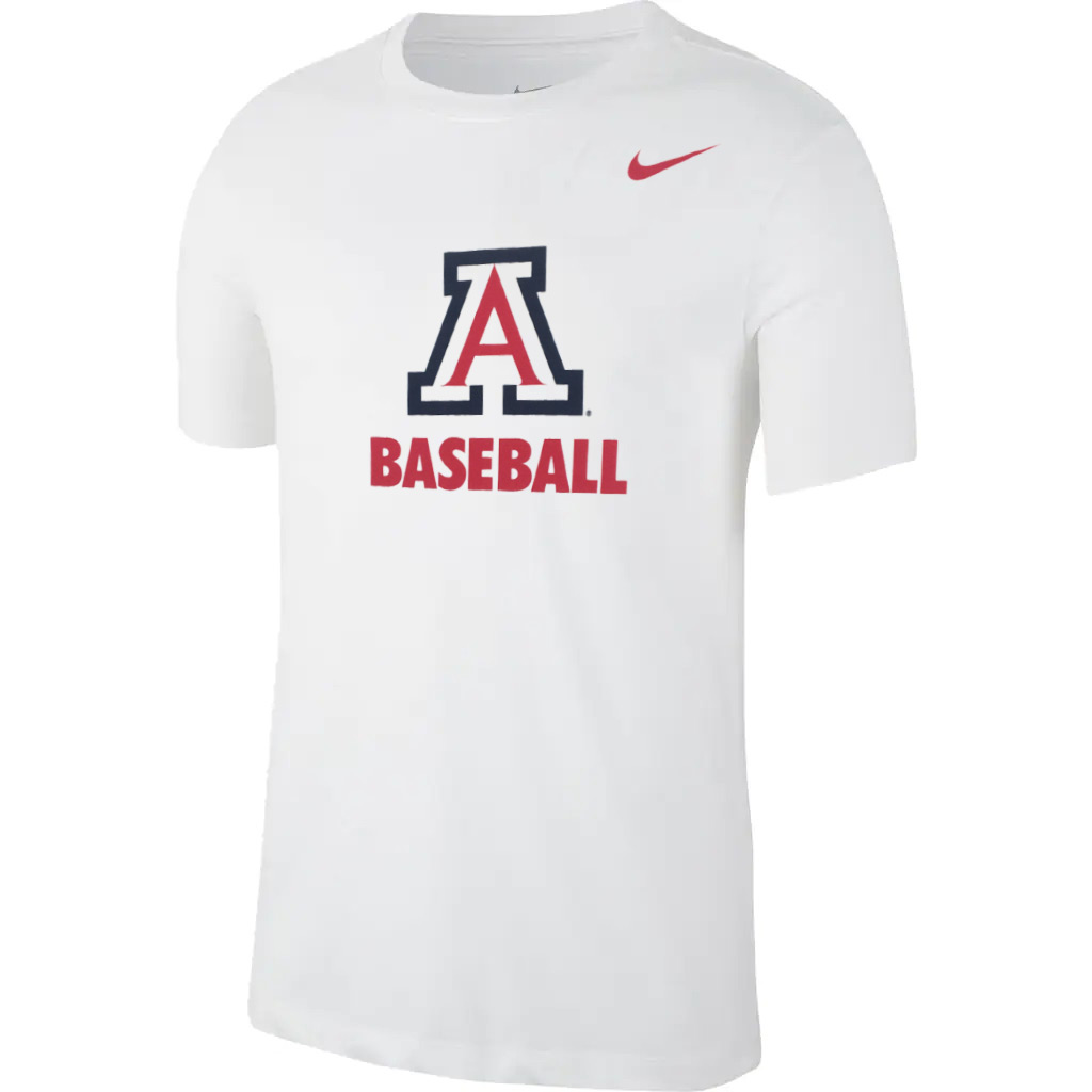 Image For Nike: Arizona BASEBALL Legend Dri-Fit Tee -White