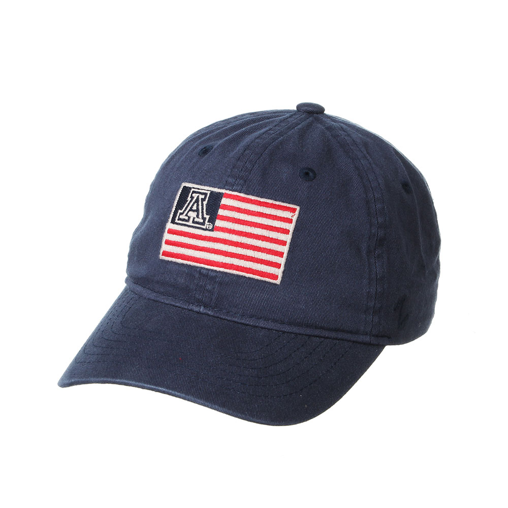 Image For Zephyr: Arizona Independence Patriotic Flag Hat - Navy