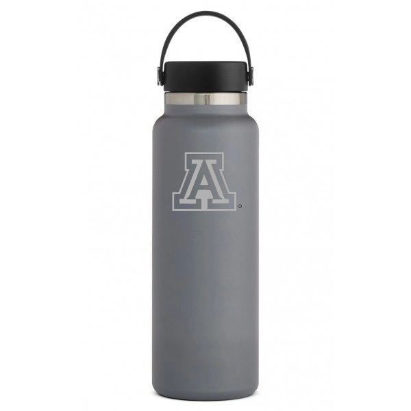 Image For Hydro Flask: Arizona Team Logo 40 oz Wide Mouth - Stone
