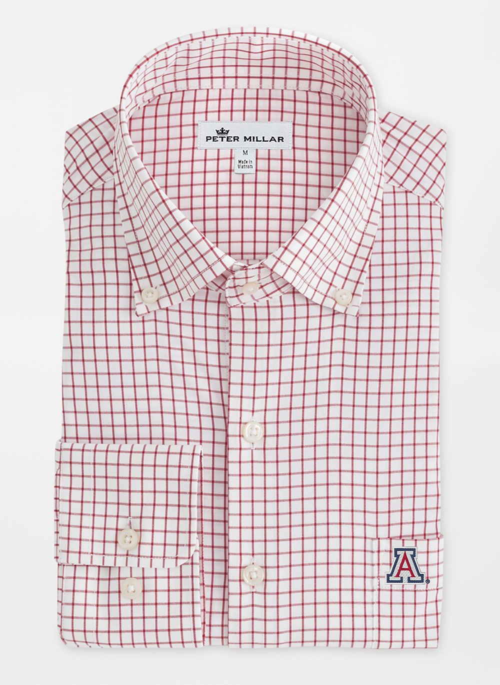 Image For Peter Millar: Arizona Performance Stretch Sport Shirt