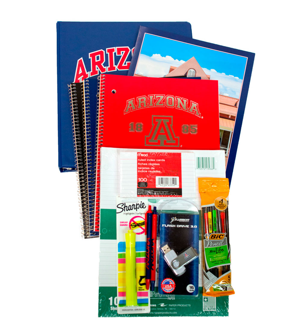 Cover Image For Arizona Fall 2020 Back To School Supplies Bundle