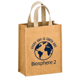 Image For Biosphere 2: Washable Paper Tote - Tan