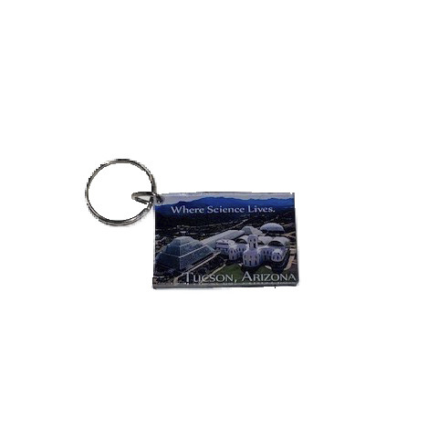 Image For Biosphere 2: Keychain - 'Where Science Lives'