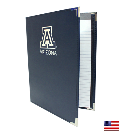 Image For Pad Holder: 'A' ARIZONA<BR>Navy