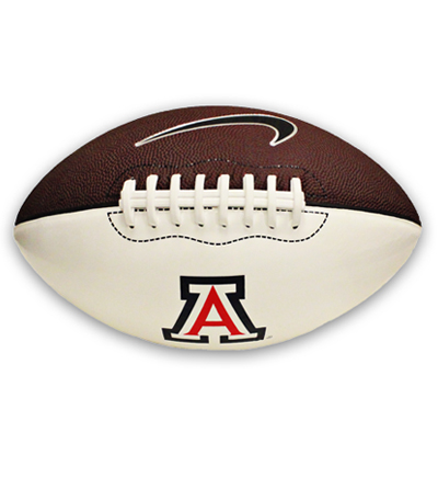 "Cover Image For Sports Ball: Arizona Football Block 'A"" Logo by Nike"