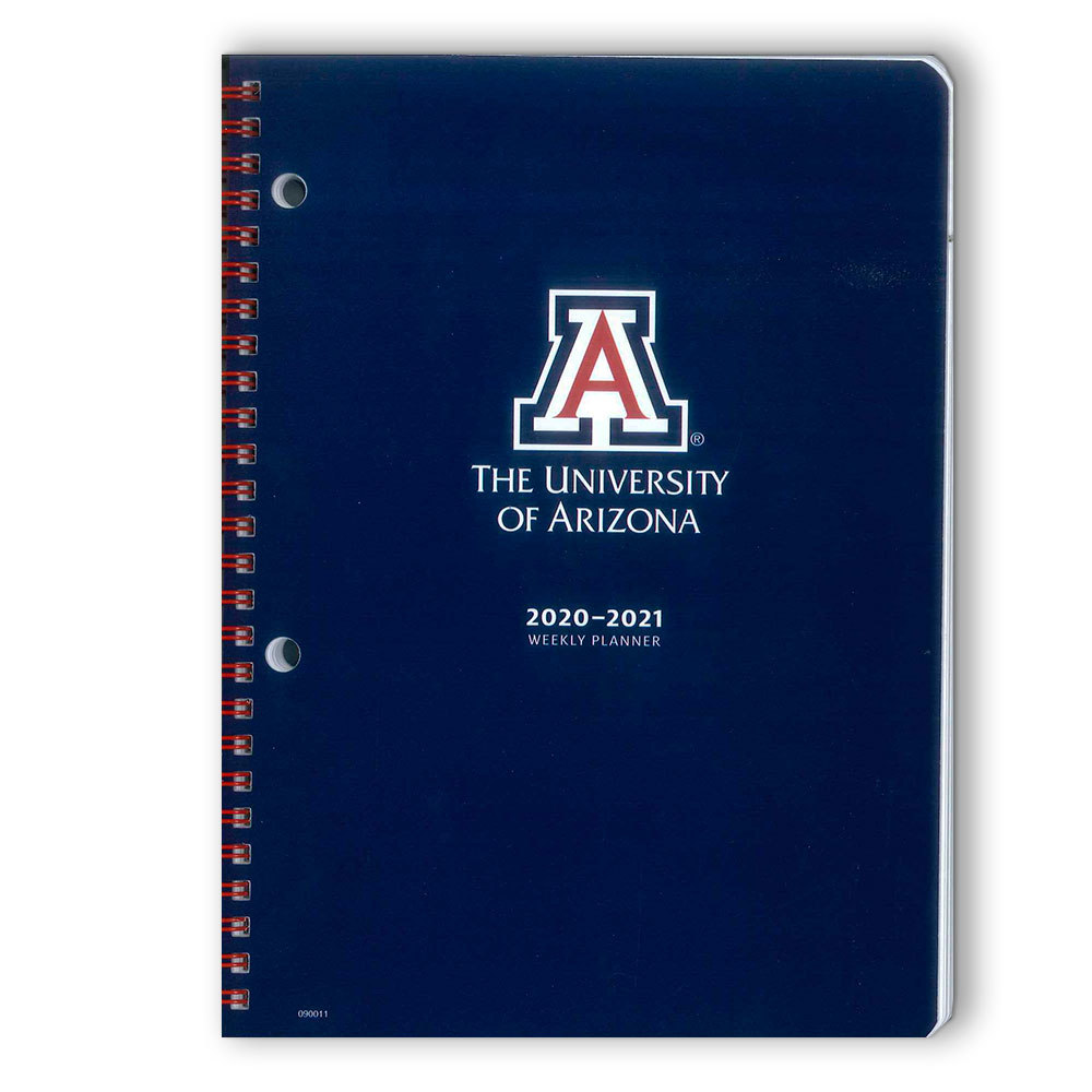 Image For Arizona 2020-2021 Student Weekly Planner