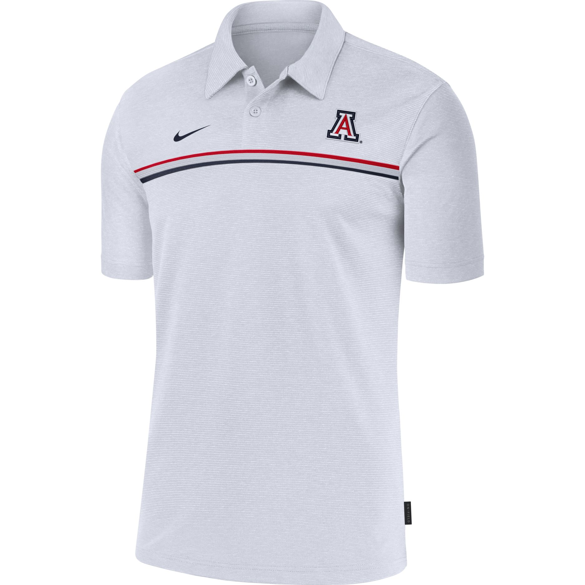 Arizona 2020 Early Coaches Performance Polo-White