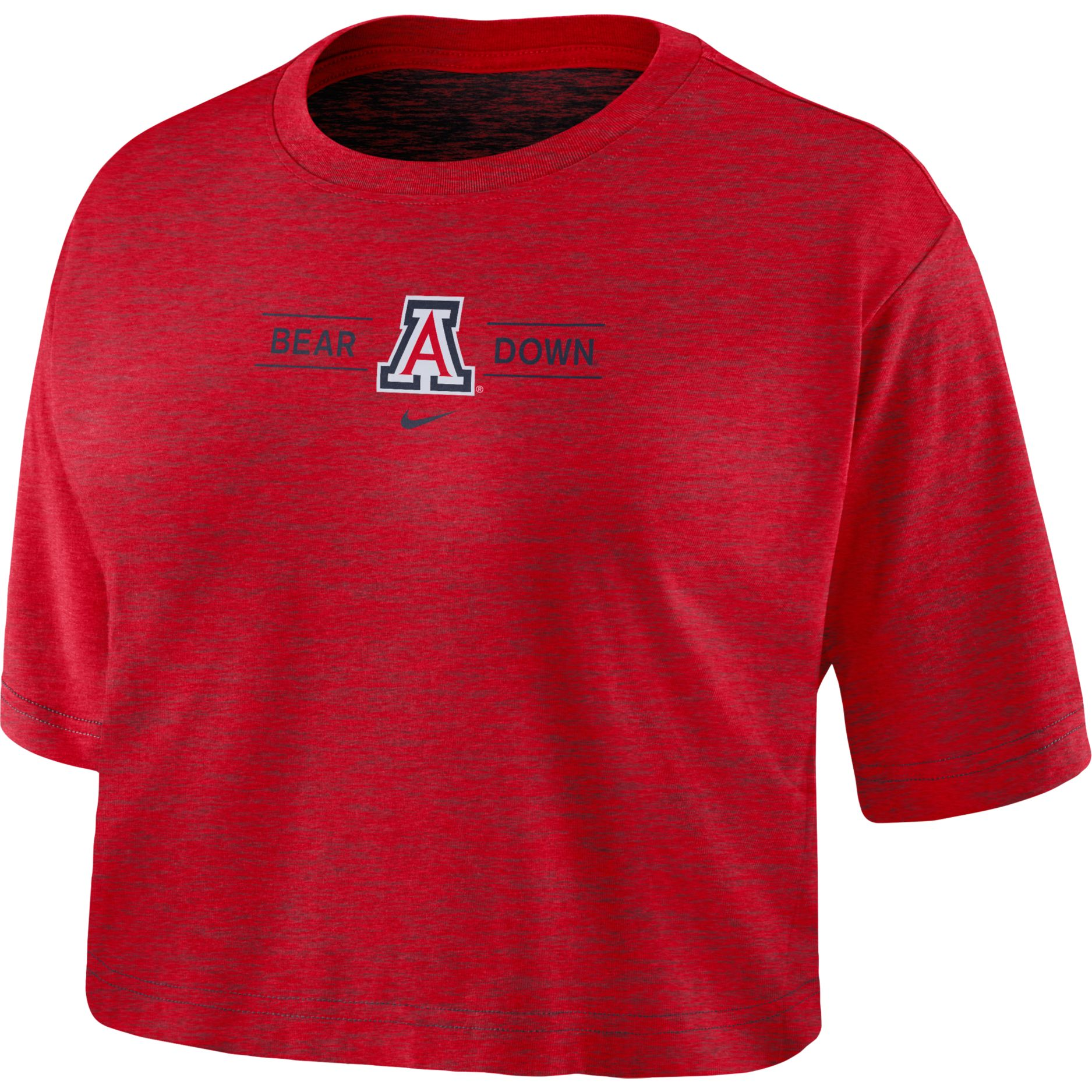 Arizona BEAR DOWN Slub Cropped Tee