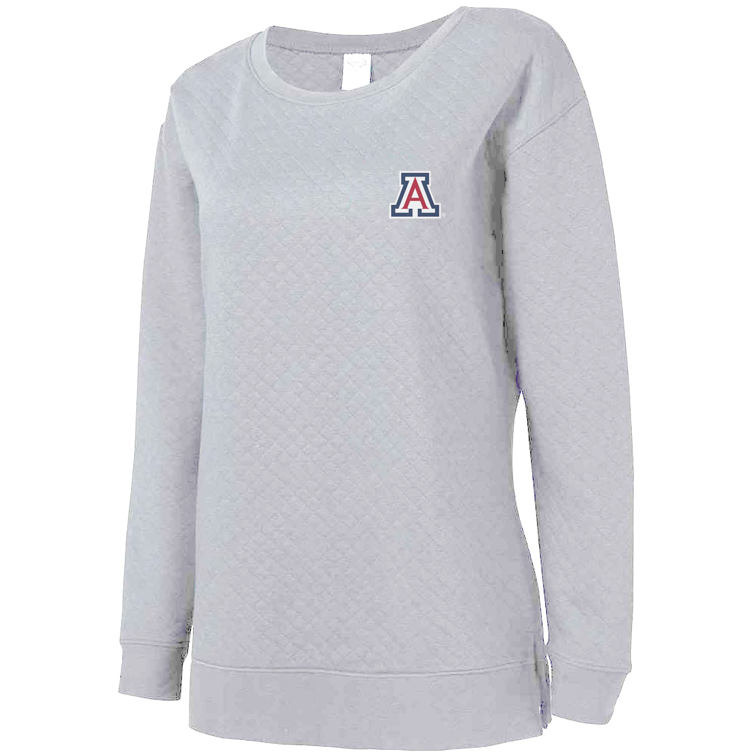 Image For Concepts Sport: Arizona Lunar Ladies Quilted Long Sleeve Top