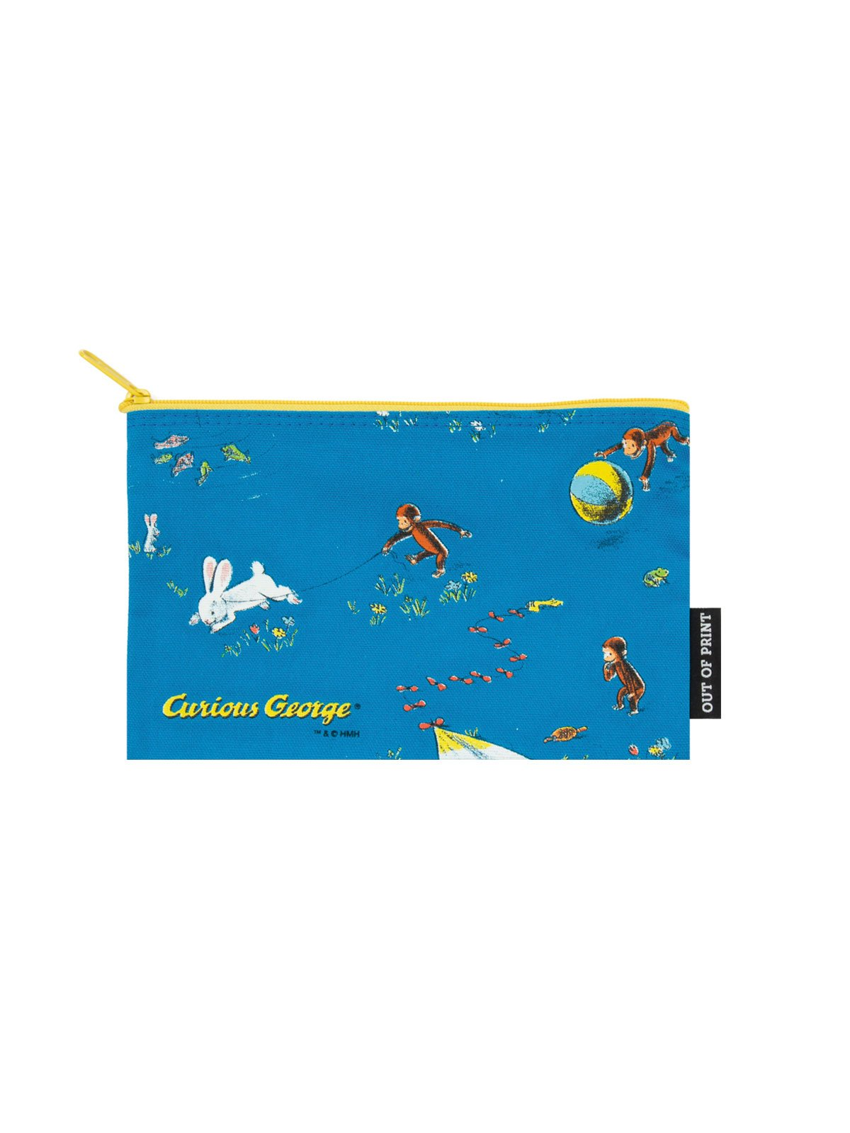 Image For Curious George Pouch