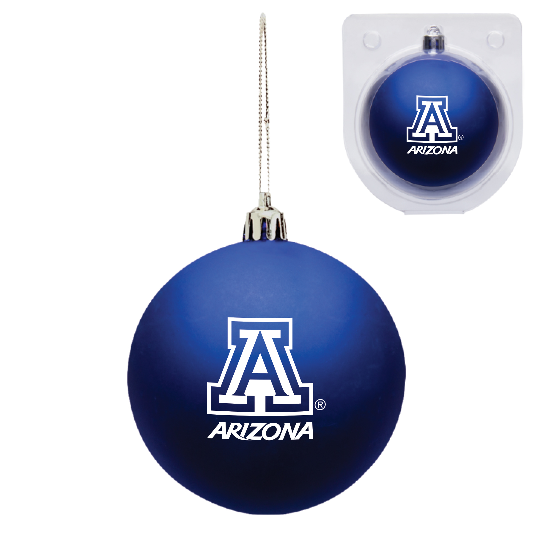 Image For Holiday: Arizona Shatter Resistant Ornament