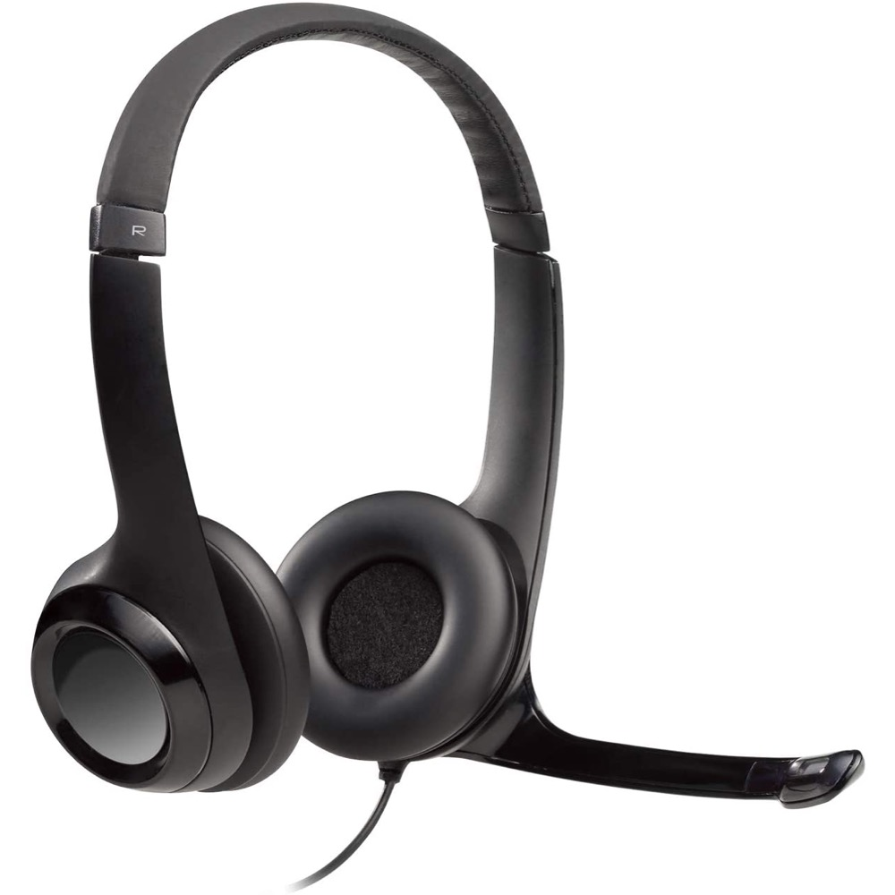 Image For Logitech - H390 USB Headset with Noise-Canceling Microphone