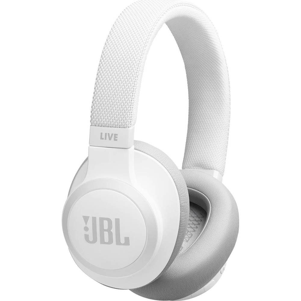 Image For JBL - LIVE 650BTNC Wireless Headphones - White