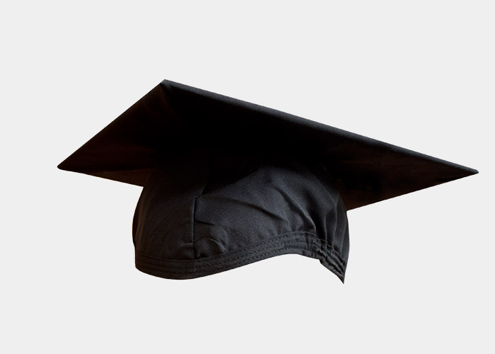 Image For Master or Doctoral Degree Cap