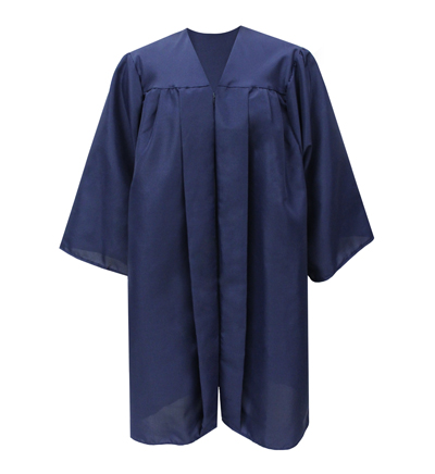 Image For Bachelor Degree Blue Gown
