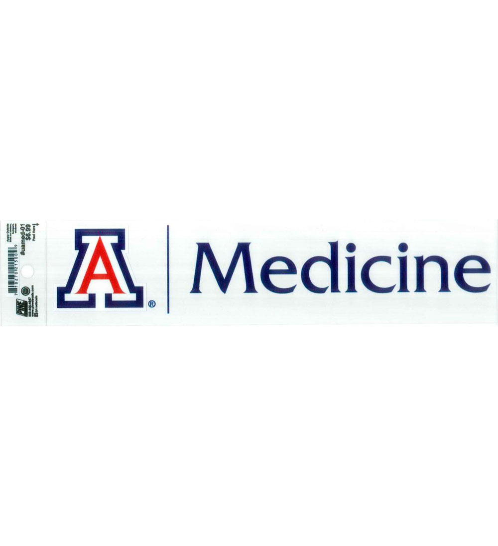Image For Decal: Arizona College Of Medicine