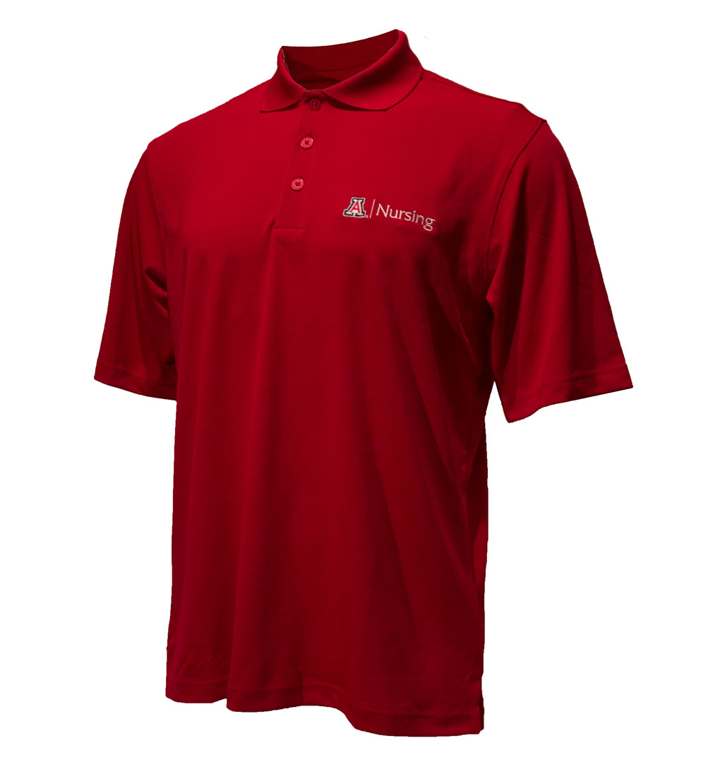 Image For Antigua: Arizona College of Nursing Extra Lite Polo Red