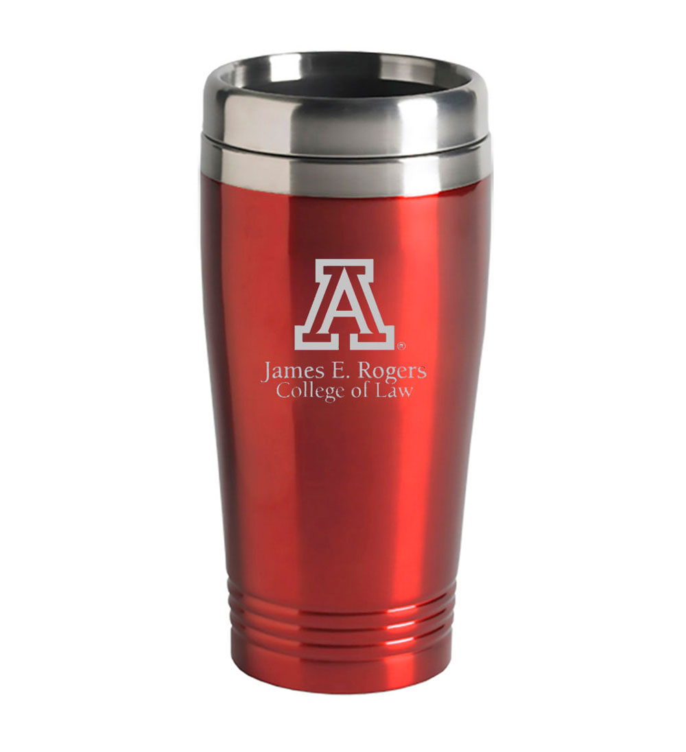 Image For Tumbler: Arizona 16 oz James E. Rogers College Of Law Red