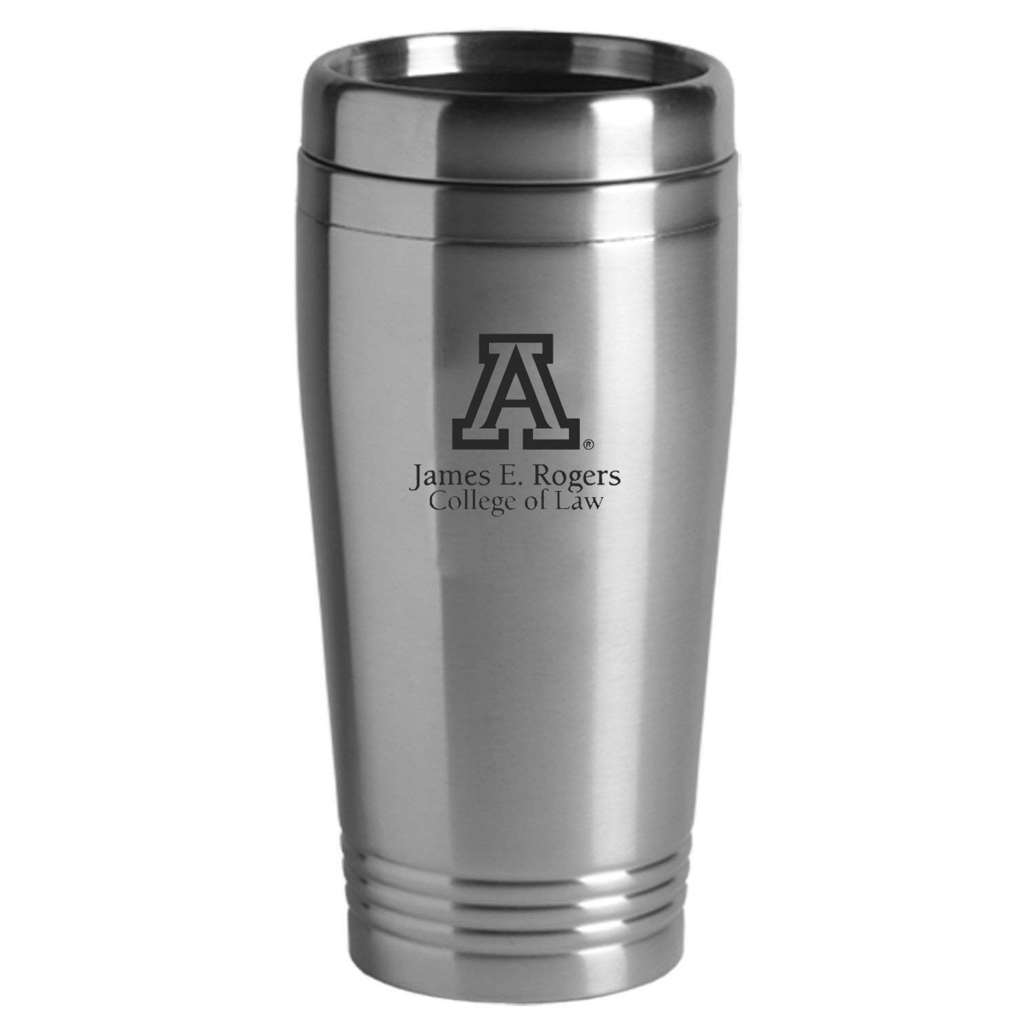 Image For Tumbler: Arizona 16 oz James E. Rogers College Of Law Silver
