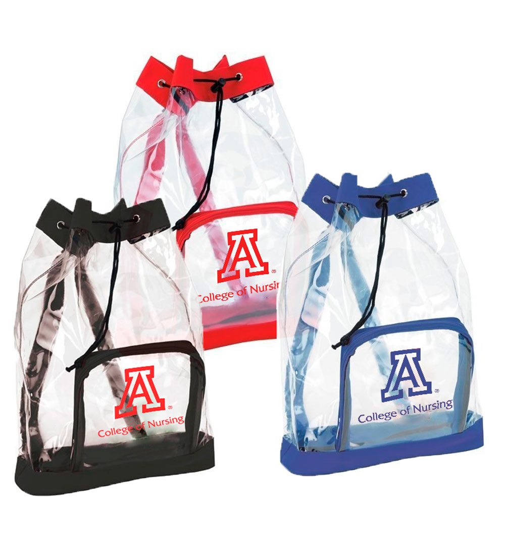 Image For Bic Graphics: Arizona College of Nursing Clear Cinch Bag