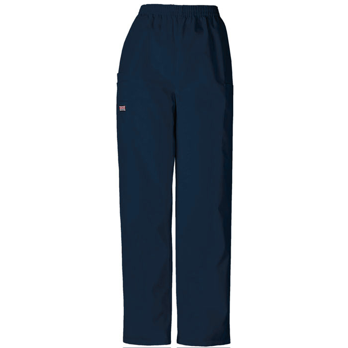 Image For Cherokee: Workwear Women's Scrubs Cargo Navy Pant